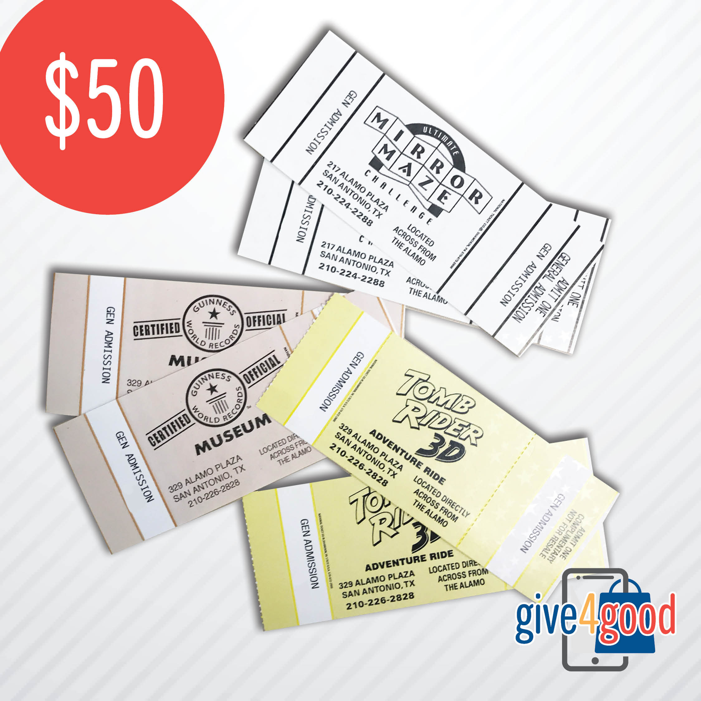 $50 Give4Good Package
